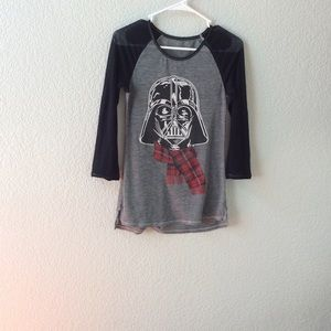 star Wars Vader in holiday best SZ S